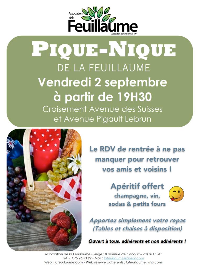 Flyer Pique Nique Feuillaume 2016