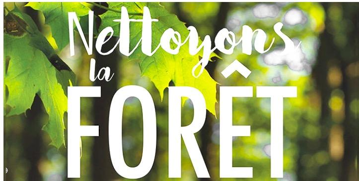 Nettoyons la Forêt